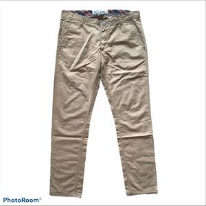 Solly Jeans Low Waist Slim Fit Khaki Pants Size 34